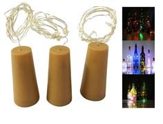Пробка-светильник для бутылки (гирлянда 1м)