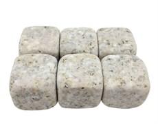 Камни для виски бежевого цвета, 9 штук