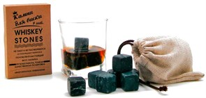 Камни для виски в мешочке, 9 шт