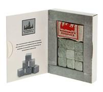 Камни для виски из стеатита в льняном мешочке, 9 шт